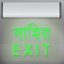 Exit Light in Bangladesh
