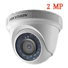 Hikvision CCTV Camera Dome | 2 MP (Plastic Body) | DS-2CE56D0T-IRP(2.8mm/3.6mm)