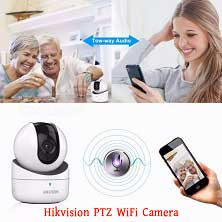Hikvision IP WiFi Camera | 1 MP (Two Way Audio) | DS-2CV2Q01FD-IW