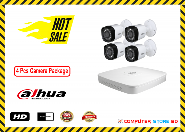 Dahua CC Camera Packages