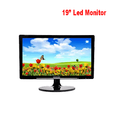 "19"" Gigasonic LED Monitor for CCTV Camera"