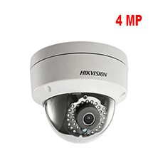 Hikvision 4 MP Dome IP Camera