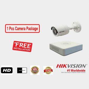 Hikvision (1 Pcs CC Camera Package )