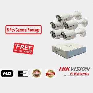 Hikvision 5 Pieces Camera Package